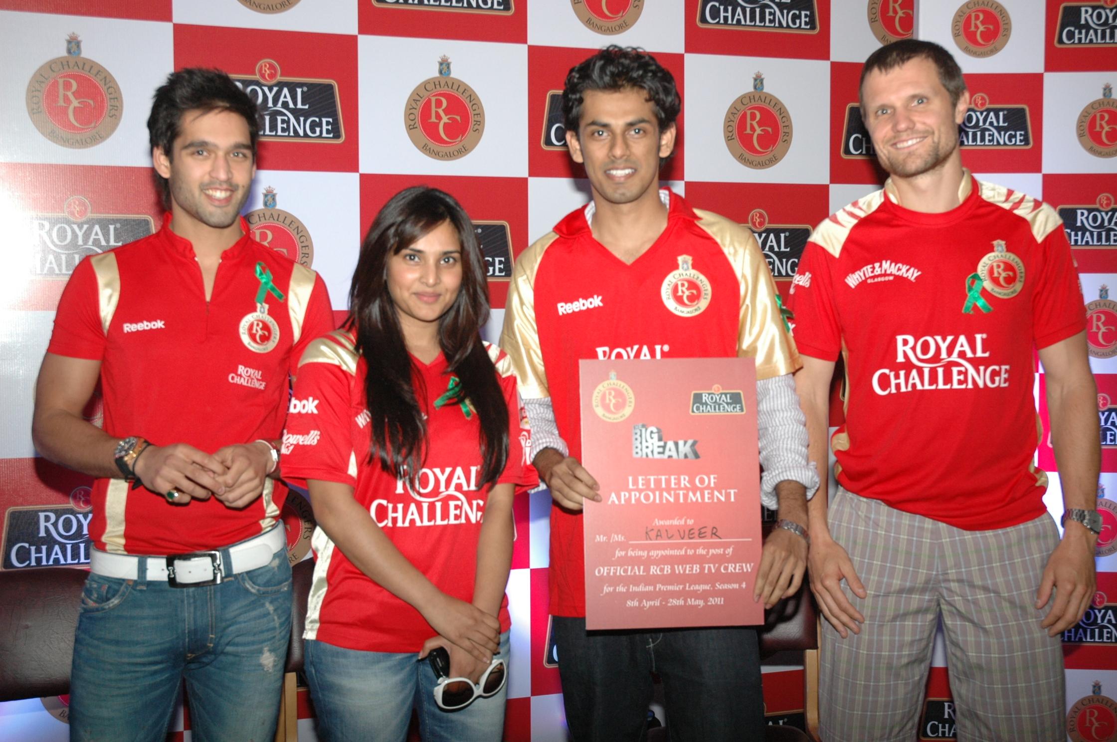 IPL Royal Challengers team director Sidhartha mallya